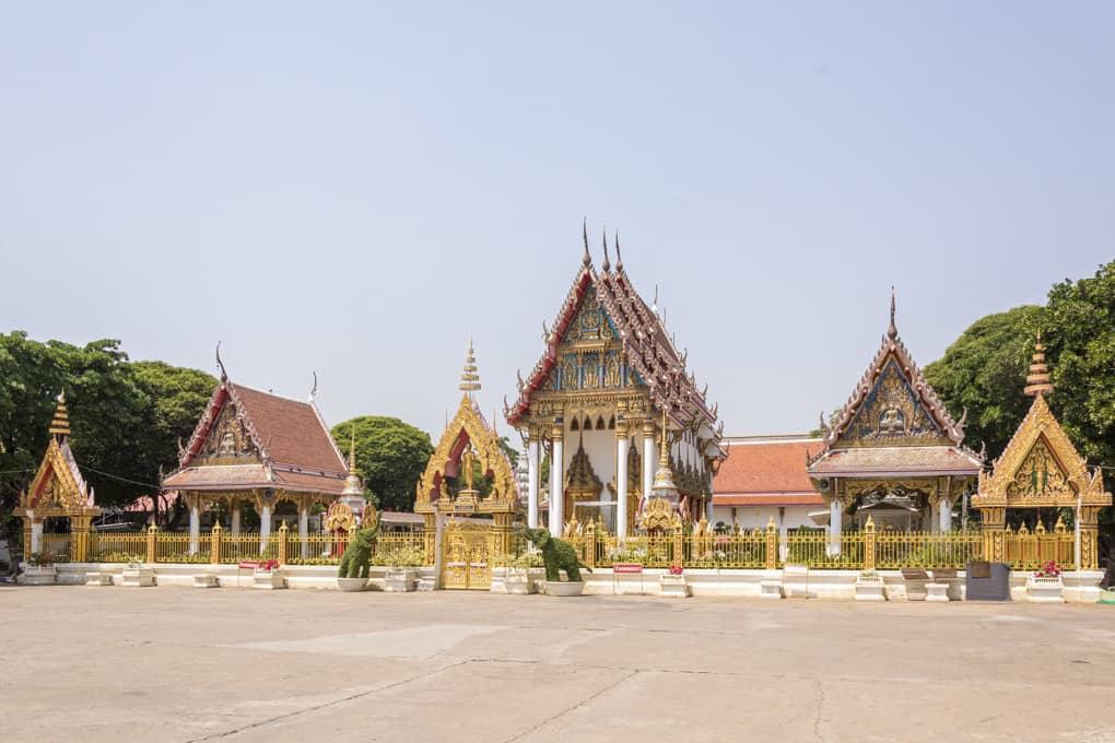 Gebäude eines thailändischen tempels