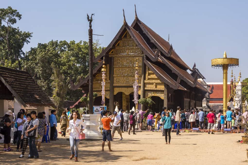 Wat Phrathat Lampang Luang Vihrn Phra Put