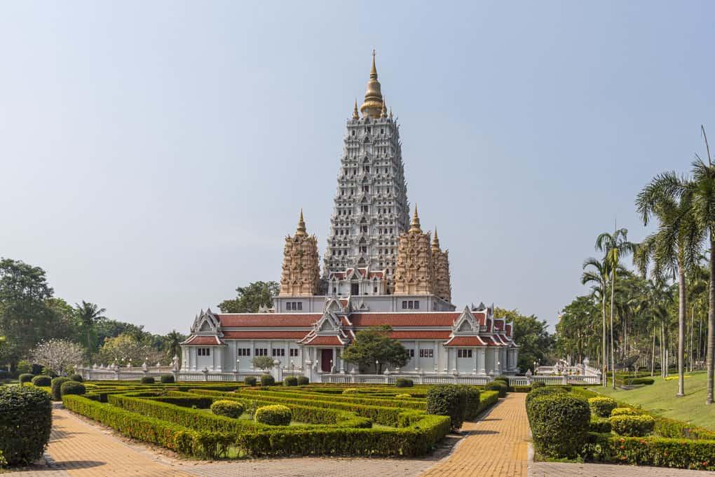Wat Yansangwaram nahe Pattaya in Thailand