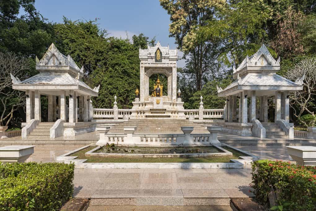 Ehrenmahl im Wat Yansangwararam in Pattaya - Thailand