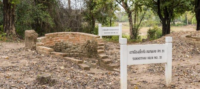 Die Keramikbrennöfen von Sukhothai