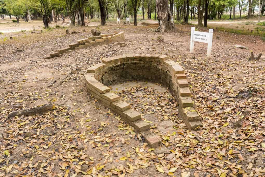 Kleinerer Keramikbrennofen in Sukhothai