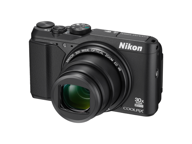 Kamera mit fest eingebautem Objektiv
