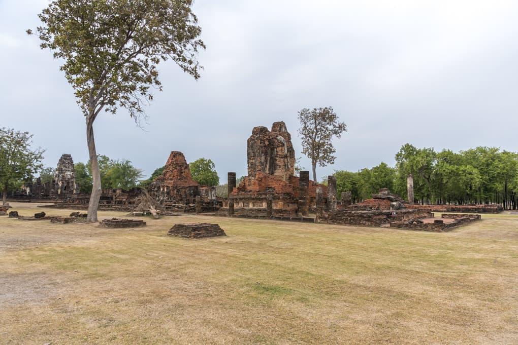 Ein Tempelanlage in der es viel zu entdecken gibt