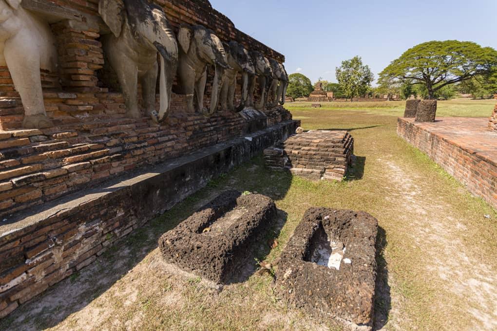 Wasserbecken die zur rituellen Waschung dienten