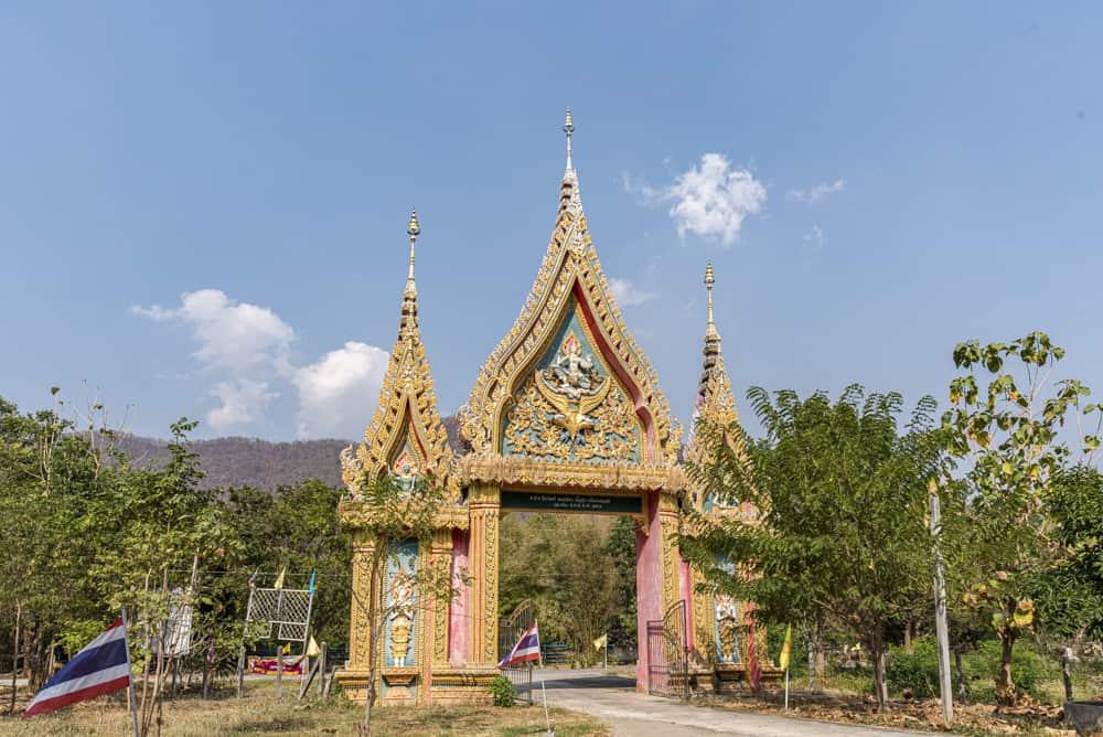 Eingangstor zum Tempel