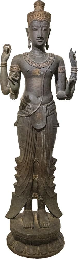 Figur einer Harihara im Ramkhamhaeng Nationalmuseum Sukhothai