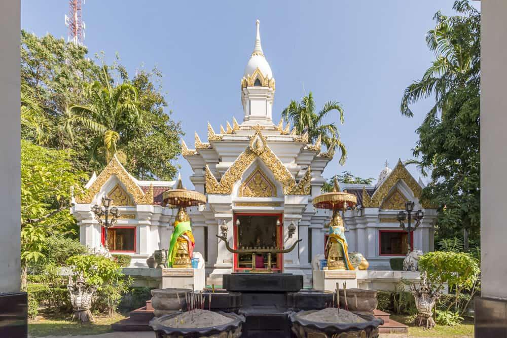 Der Phra Mae Ya Schrein in Sukhothai