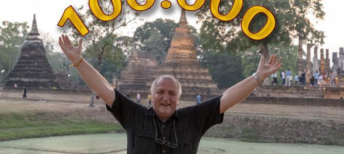 Gewinnspiel für 100.000 Seitenaufrufe auf dem Foto-Reiseblog