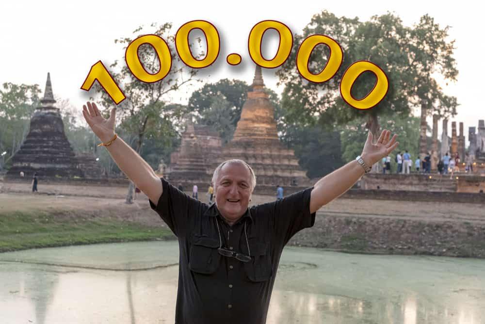 100000 Zugriffe auf den Reiseblog in zwei Jahren