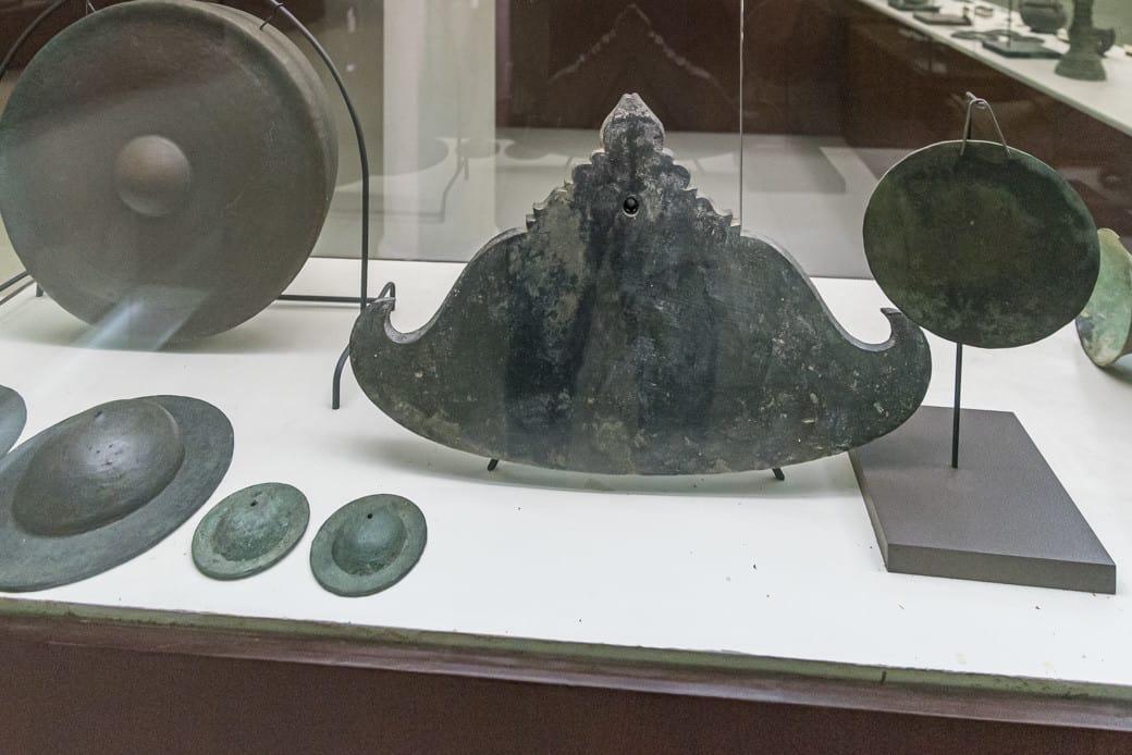Bronze Funde der Archäologen aus der Sukhothai Epoche