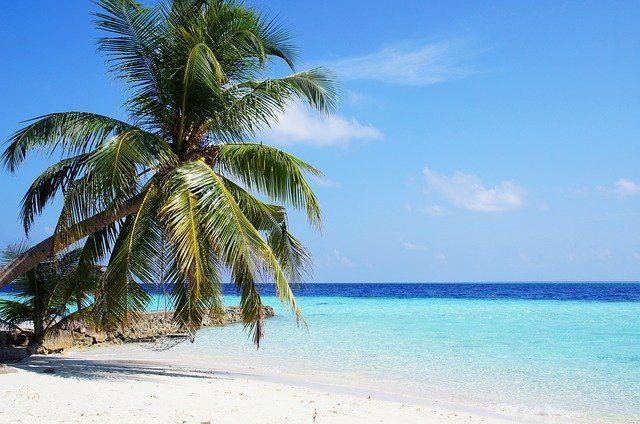Traumdestinationen in der Welt hier Malediven