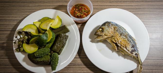 Ein thailändisches Abendessen