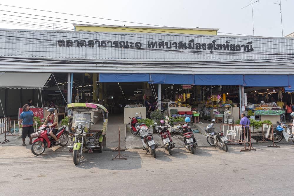 Markthalle in Neu-Sukhothai