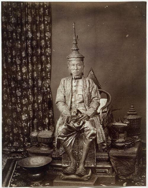 Majestät König Mongkut (Rama IV.) von Siam