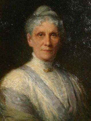Portrait von Anna Leonowens