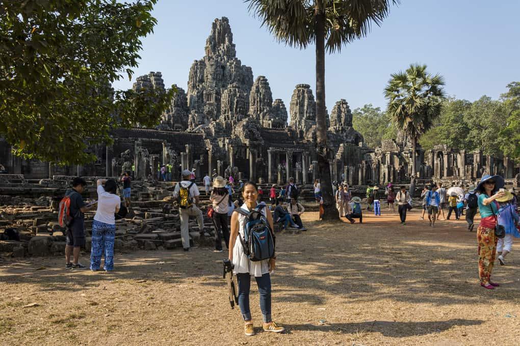 Der Bayon im Angkor Thom