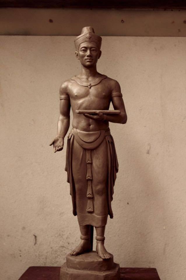 Standbild König Li Thai