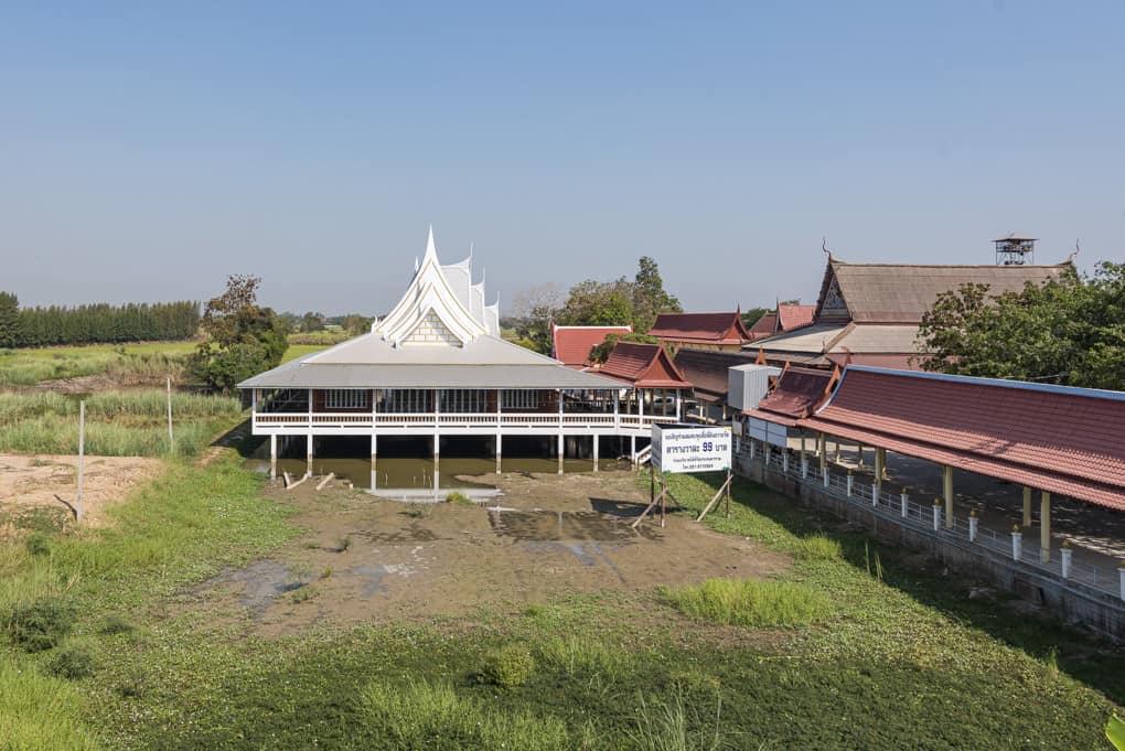 Der fertige neue Viharn im Wat Krachongkaram