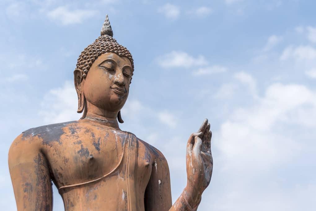 Die Gestik der Buddha-Darstellungen Teil 3