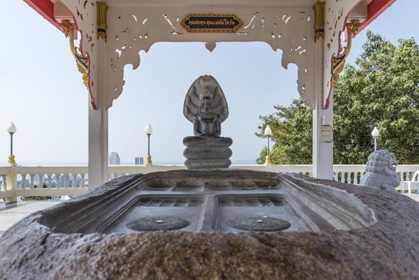 Der Fußabdruck Buddhas