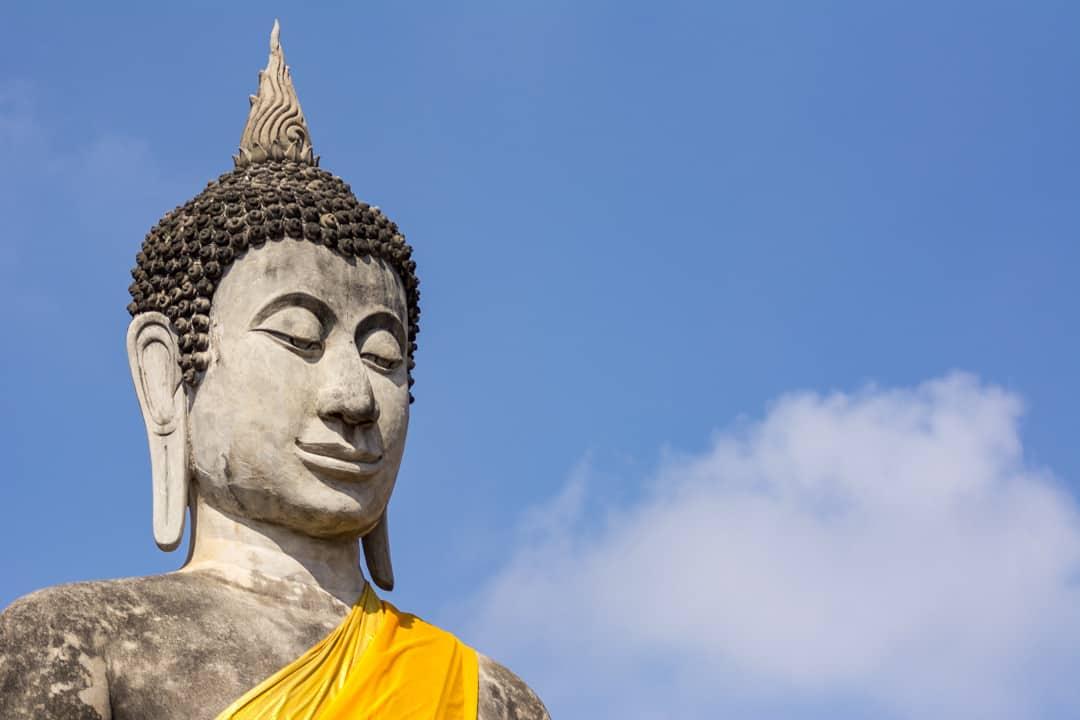 Buddha-Kopf - Gestik der Buddha-Darstellungen Teil 1