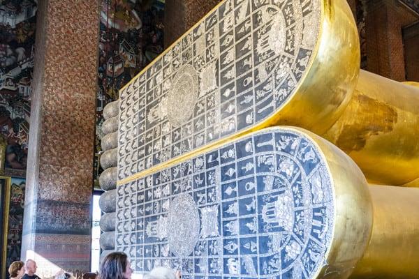 Fußsohlen des Buddhas im Wat Pho