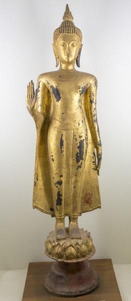 Der schlanke Körper Buddhas - Gestik der Buddha-Darstellungen