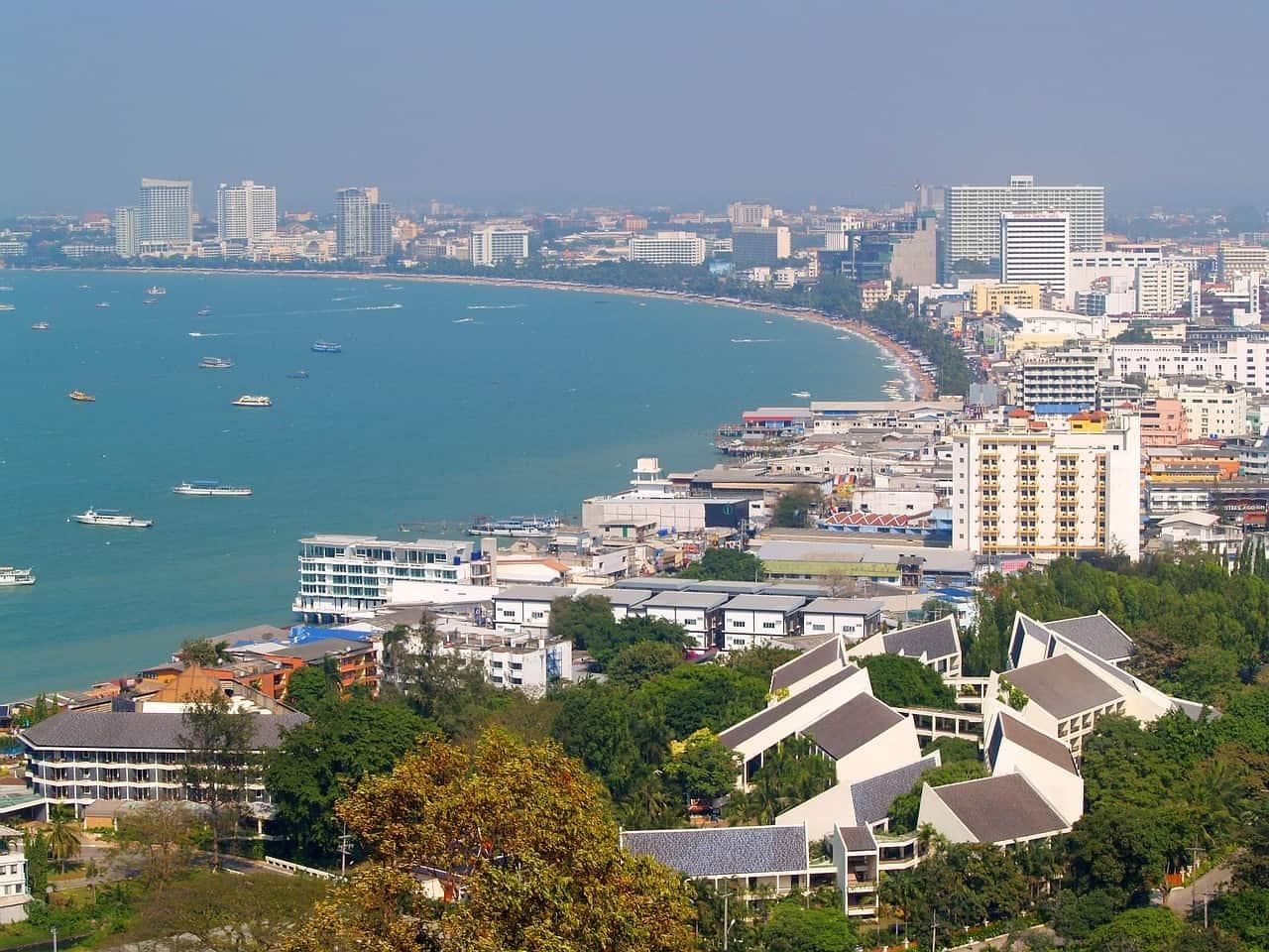 Strandpromenade Pattaya Thailand