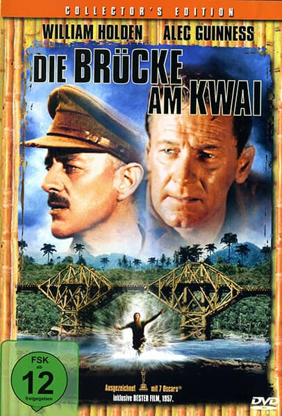 Die Brücke am Kwai Filmplakat