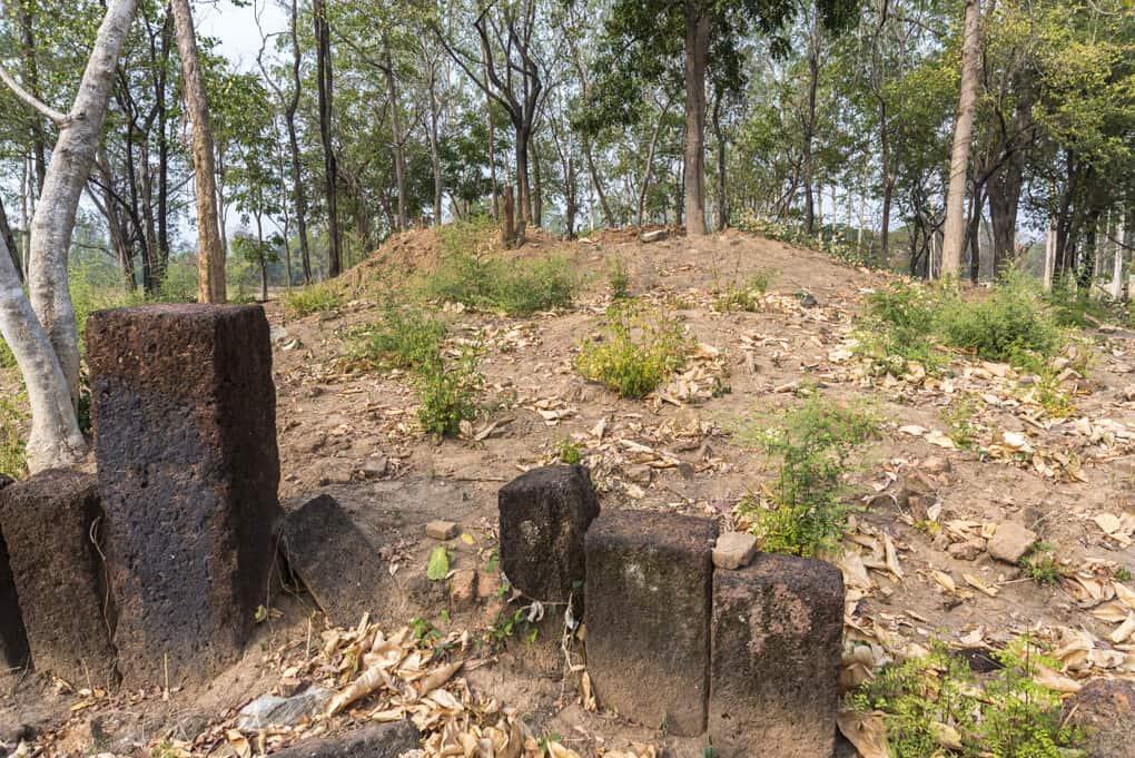 Reste des Wat Hin Tang - die Khmer in Sukhothai