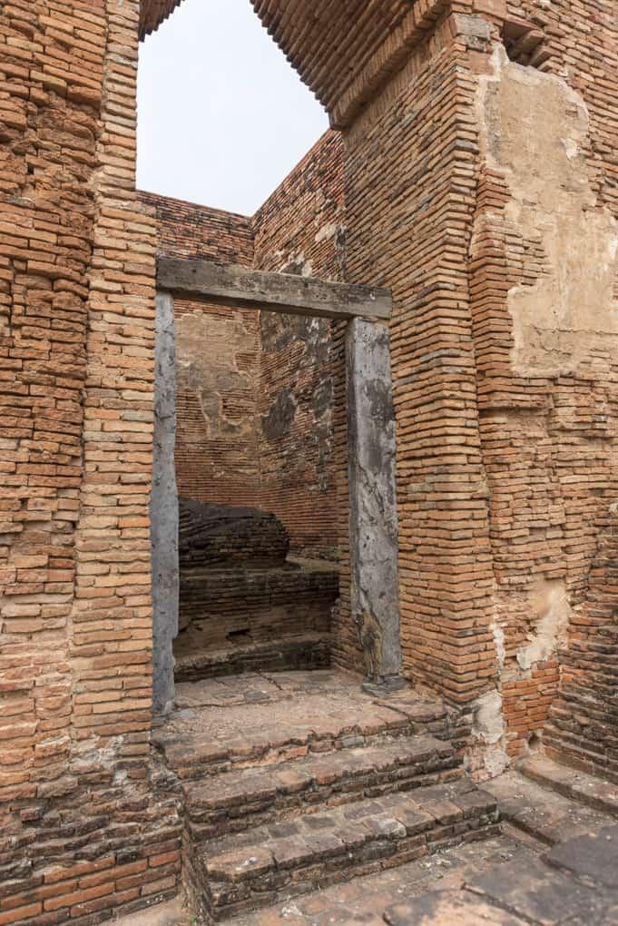 Eingangstor aus Schiefer