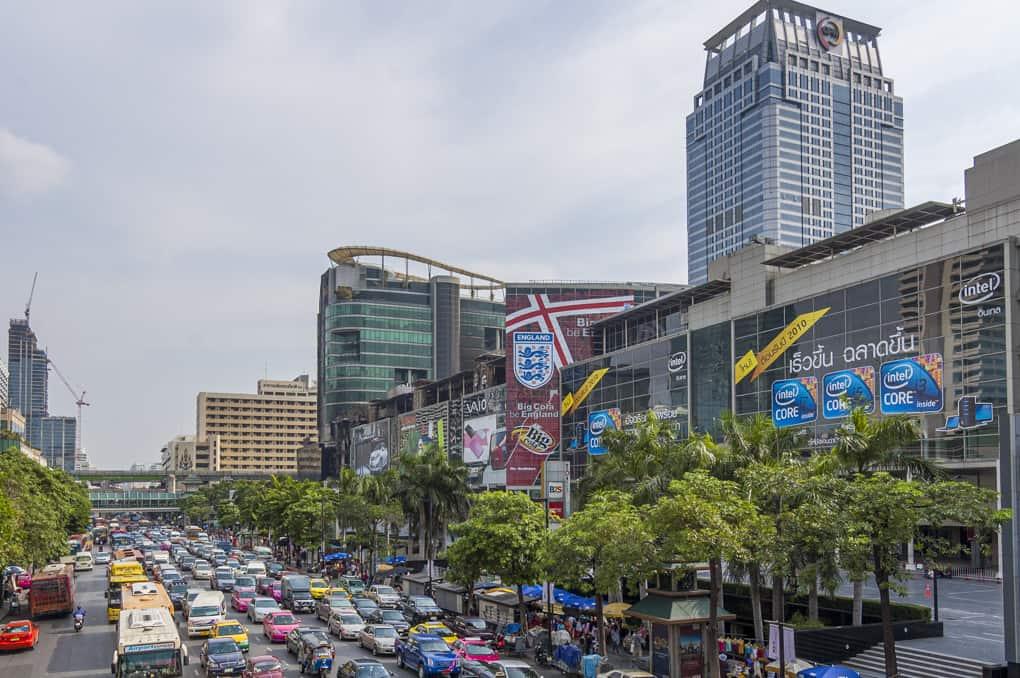 Bangkok eine Stadt der Probleme droht der Verkehrsinfarkt