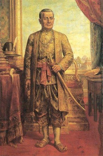 Bild vom König Rama I.