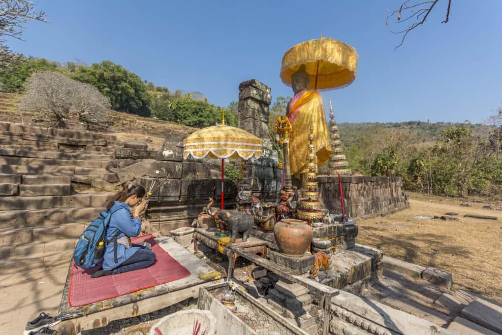Statue vom Prinzen Kammatha