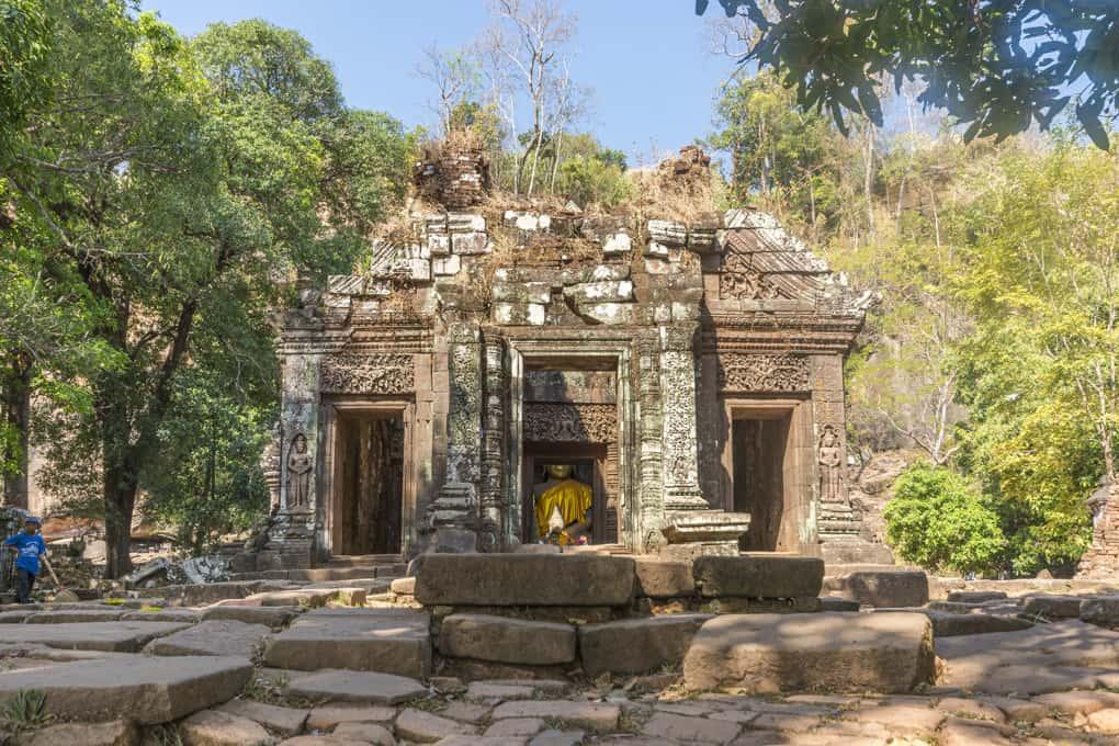 Das Allerheiligste im Wat Phou