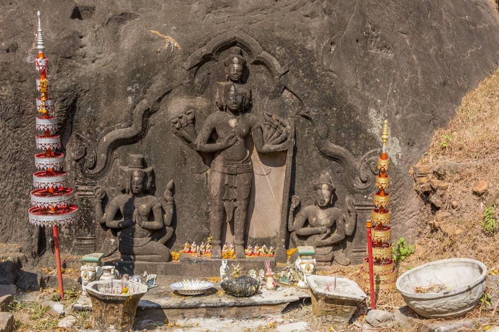 Trimutri - Heilige Dreifaltigkeit des Hinduismus