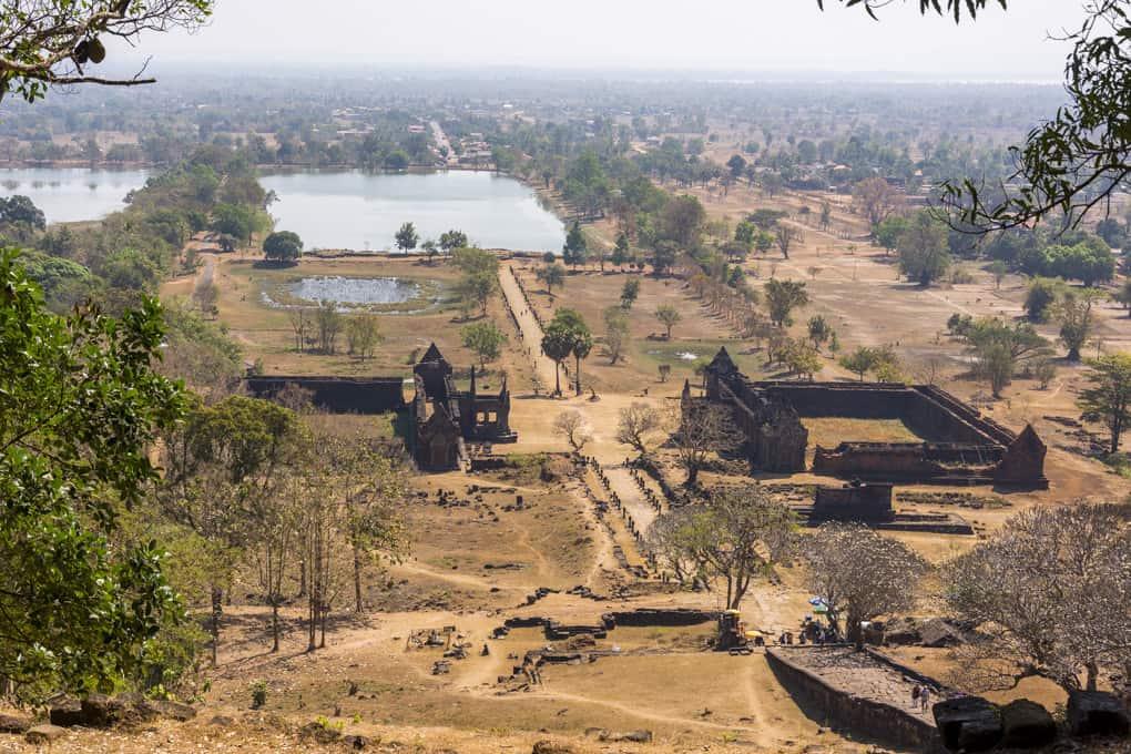 Wat Phou der Bergtempel der Khmer in Laos