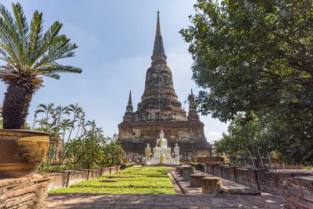 Tempel aus der Ayutthaya - Epoche