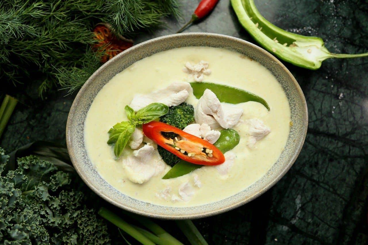 virtuelles green Curry macht nicht satt - ein Rezept aus Thailand