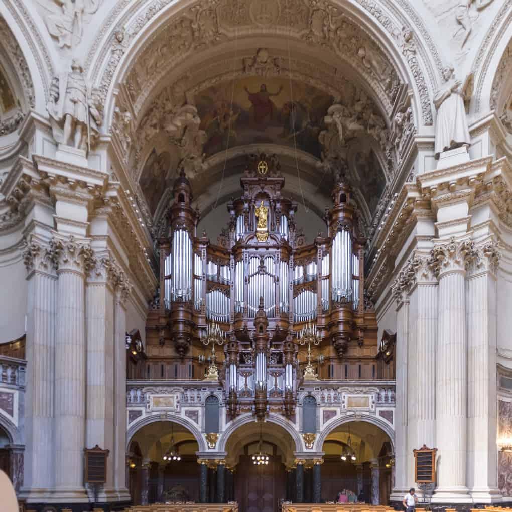 Die Orgel im Berliner Dom