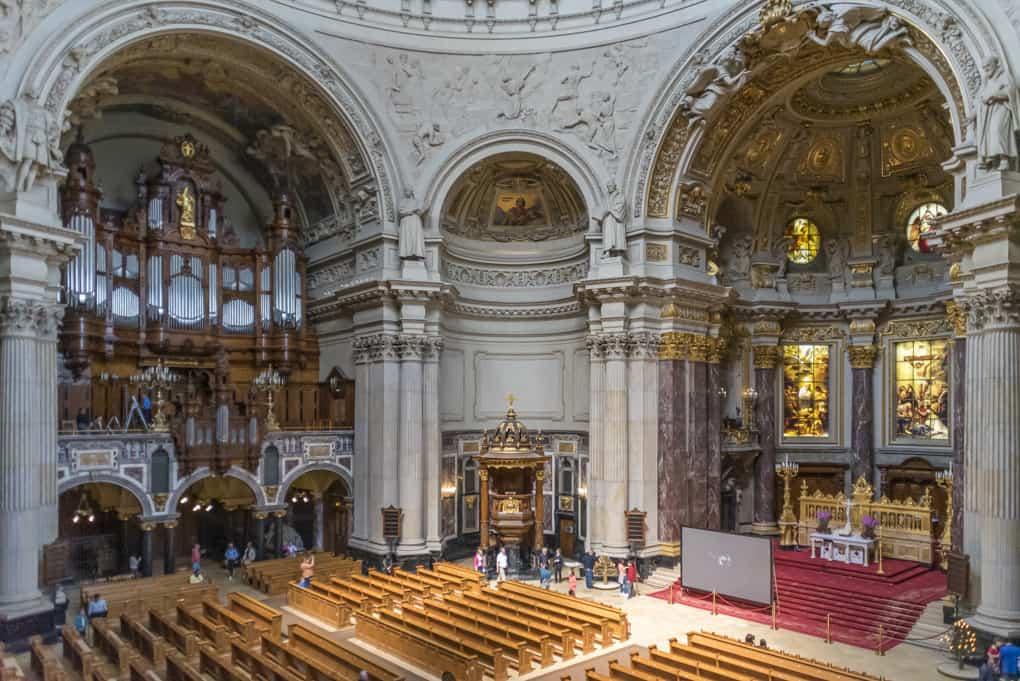 Die Predigerkirche im Ueberblick