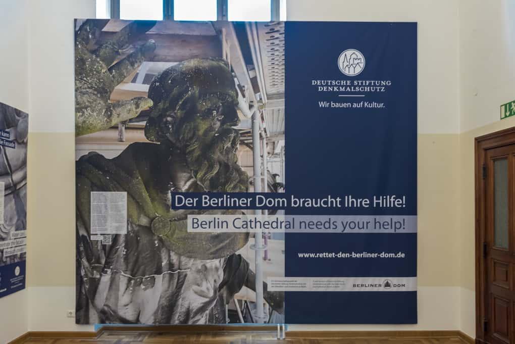 Spendenaufruf für den Berliner Dom