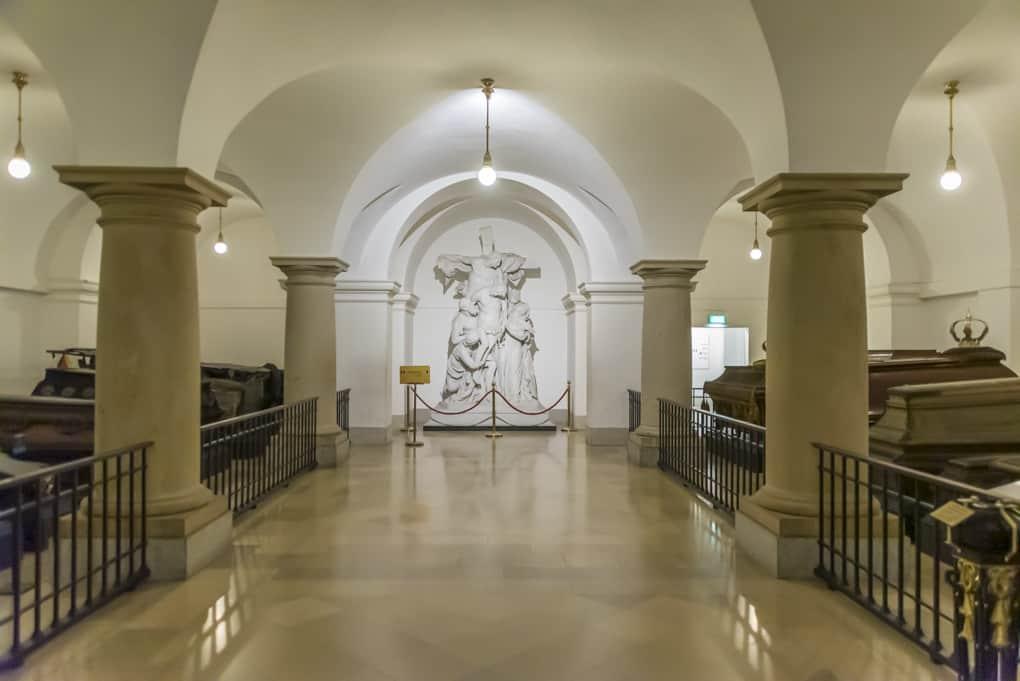 Blick in die Grablege im Berliner Dom