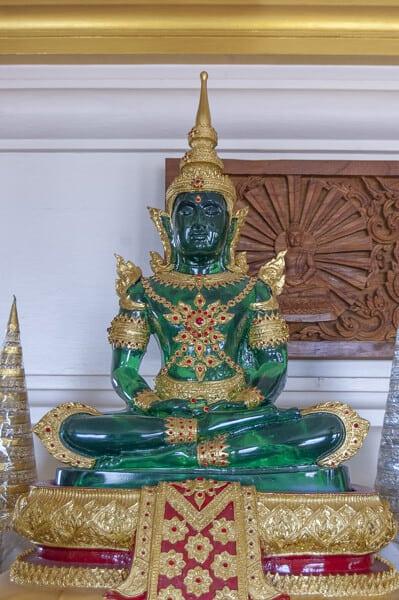 "Wundervolles Farbenspiel des ""Grünen Buddhas"" auf dem Golden Mount"