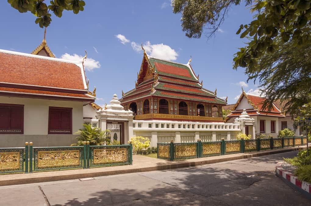 Eingang zum Wat Saket