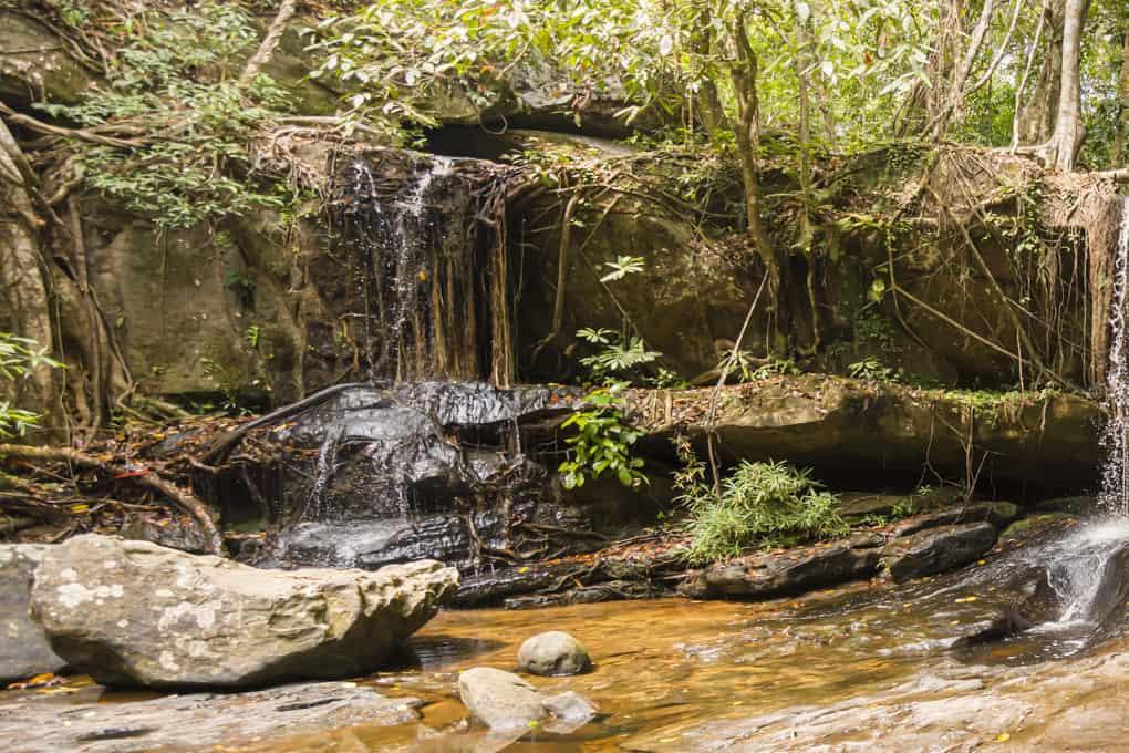 Der Wasserfall des Kbal Spean