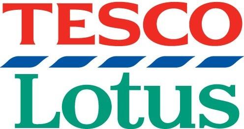 Logo des Tesco - Lotus Warenhaus