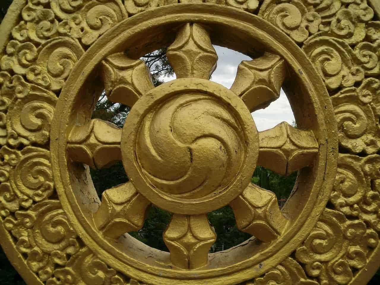 Nabe eines Dharma-Rad