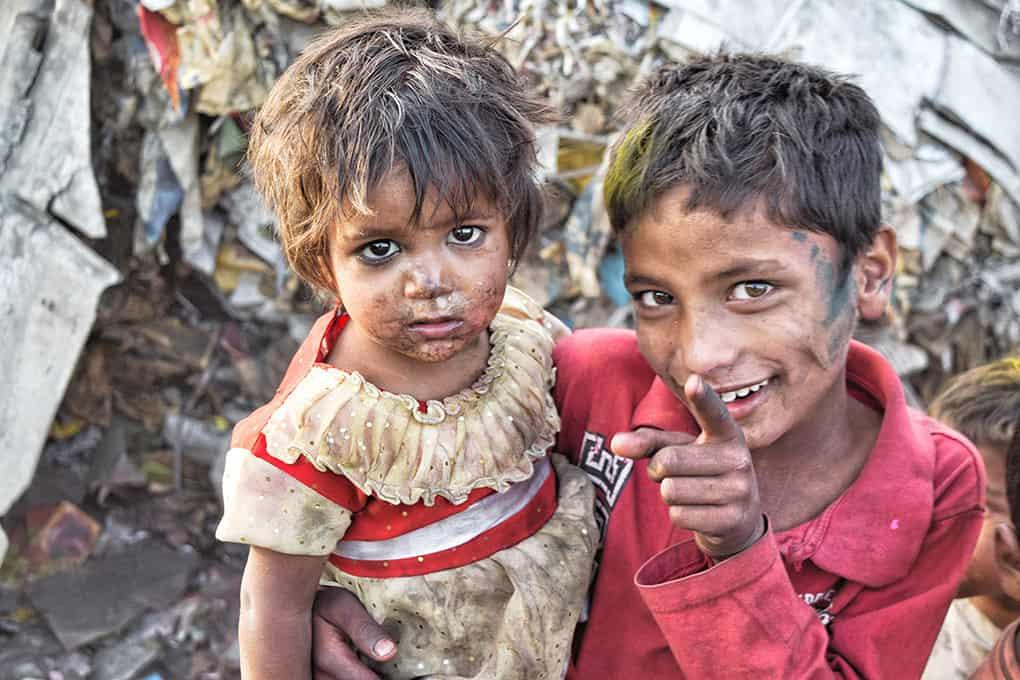 Kinder Im Kastensystem des Hinduismus